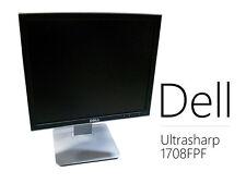 "Dell UltraSharp 1708FPF 17"" LCD Monitor w/ VGA & power cable - Free Shipping"
