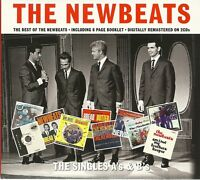 THE NEWBEATS THE SINGLES A's & B's - 2 CD BOX SET - INCLUDES 8 PAGE BOOKLET
