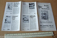 1961 Vintage Book Catalogue from Model Aeronautical Press Watford. Interesting