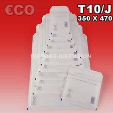 Lot 50 Enveloppes à bulles pochettes Blanches ECO 350x470 mm 10/J (ext. 370x480)