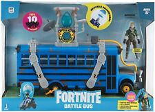 Fortnite Deluxe Battle Bus Vehicle w/Inflatable Balloon & Recruit Jonesy