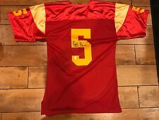 Reggie Bush Signed Red Mesh USC STYLE COLOR Jersey (GTSM hologram)