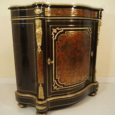 CHARLES-GUILLAUME DIEHL, Napoleon III, Boulle Marqueterie Side Cabinet 1850 ca.