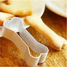 Kitchen DIY Cookies Baking Sugarcraft Mold Pastry Cutter Mould Dog Bones Shaped