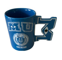 NEW Disney Parks Pixar Monsters University MU Scare Dept. Coffee Mug Cup 3D