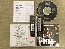 INXS - Full Moon, Dirty Hearts JAPAN CD 1993 (AMCE-635) OBI OOP