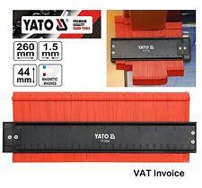 """YATO Professionnel Contour Profile Gauge magnétique forme 44x260mm (1,7 x10 """") yt-3736"""
