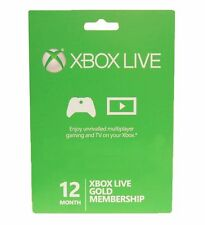 Xbox Live Subscriptions