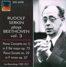 Rudolf Serkin Spielt Beethoven Vol.3, New Music