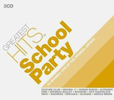 Greatest Hits School Party 3 CD GO WEST,BLONDIE,SPECIALS,MADNESS,KIM WILDE Etc