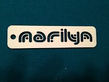 Laser Cut Wood Personalized Bookmark any Name Birthday Holiday Wedding Favor