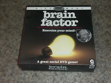 2008 Ginger Fox Ltd Desmond Lynam cerebro factor Dvd Juego 100% Completo
