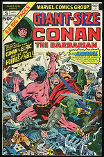 Conan the Barbarian Giant Size 5 Comic Elric Melnibone Barry Smith Gil Kane art