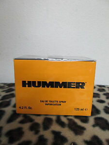 HUMMER BY HUMMER MEN FRAGRANCE 4.2 OZ EDT SPRAY NEW IN BOX COLOGNE