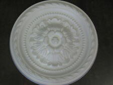 Rosone polistirolo diametro cm 30 bianco polisterolo punto luce decoro soffitta