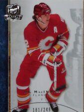 "2008-09 UPPER DECK ""THE CUP""  -  AL MacINNIS BASE CARD    #181/249"