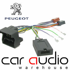 Peugeot 607 2004 On BLAUPUNKT Car Stereo Radio Steering Wheel Interface