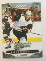 UPPER DECK 2019 - 2020 MVP ALEX GALCHENYUK # 189 | 1 CARD