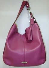Coach 23309 Avery Leather Large Hobo Shoulder Bag Purse ROSE Pink Mauve NWT
