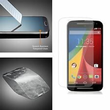For Motorola Moto G2 2nd Gen 100% Genuine Tempered Glass Film Screen Protector