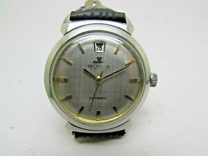 Vintage Jaeger Le Coultre Automatic With date Special Fancy Case steel Men Watch