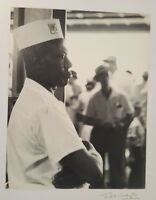 B/W, ANTIQUE Photo (HMS Worker) by Fred E. Worthington - Signed/Circa 1960