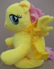 2017 My Little Pony FLUTTERSHY Soft Plush BACKPACK With Adjustable Straps
