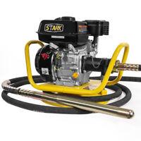 6.5HP Gas Power Concrete Vibrator 1.5 Inch x 18' Foot Flexible Vibrate Poker