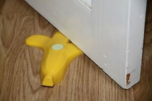 New Silicone Banana Doorstop Wedge Stopper Home Novelty Decor Safety