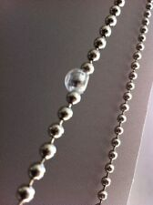 5x CLEAR BALL CHAIN STOPPERS FOR ROLLER HOLLAND BLIND