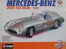 Mercedes-Benz 300 SLR M. M. 1955 Bburago Model Kit #18-15028