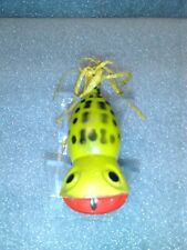 Old Lure Vintage Topwater Hula Popper Style Lure In Colors Like A Frog /Bass.
