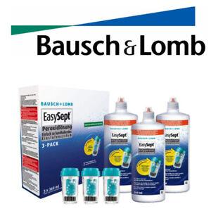 EasySept 3-Pack 3 x 360ml Pflegemittel Peroxidlösung von MHD 2023/04