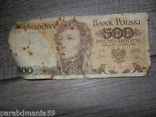 Ancien billet/50-Bank- Polski-1982