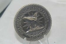 CIA Navy Operational Support Center Long Island Commander Officer Challenge Coin