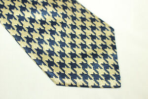 LES COPAINS Silk tie Made in Italy F14212