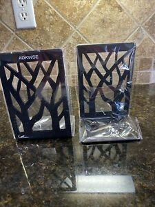 Adkwse Bookends, Book Ends, Book Ends for Office, Bookends 7x5