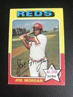 1975 Topps Joe Morgan Cincinnati Reds #180 Baseball Card
