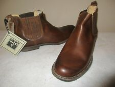 NEW Men's FRYE Phillip Chelsea Ankle Boots, Cognac, Sz 11.5 M, Retail $278
