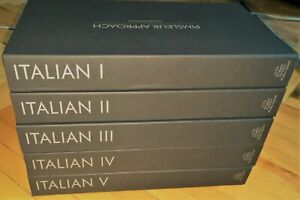 Italian Audio Language Course Levels from 1 to 5 level from Рimslеur