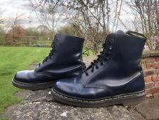 Dr. Martens 1460  Blue Leather Iconic Boots Size UK 7 EU 41 Made In England