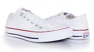 Converse All Star OX Chucks M7652C Unisex Sneaker weiß Gr. 36 - 45 + Geschenk