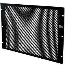 "7 Space Vented Server Network PA/DJ Rack Case Spacer - 7U 19"" Rack Mount Panel"