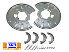 BMW E46 330i 330d REAR DISC BRAKE BACK PLATES SHOES & FITTING KIT A1094