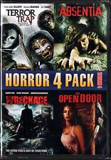 Horror 4 Pack, Vol. 4: Terror Trap/Absentia/Wreckage/The Open Door (DVD, 2013)