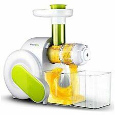 ElectrIQ Slow Masticating Juicer Fruit Vegetable Cold Press Juice Extractor Es4