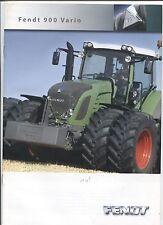 N°7455 /  catalogue tracteur FENDT 900 Vario   2006-2008