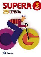 Supera 25 dificultades lengua 3º primaria. ENVÍO URGENTE (ESPAÑA)
