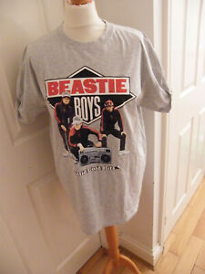 AND FINALLY BEASTIE BOYS T-SHIRT BNWOT SIZE LARGE ALL CLEAN GREAT TEE