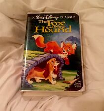 Rare Black Diamond Disney The Fox And The Hound -  Sealed Mint Condition
